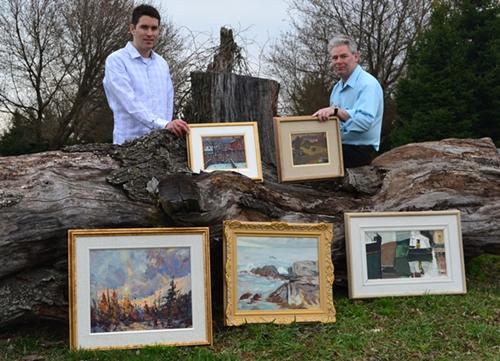 Photo of Clayton Kenyon and Mark Skeffington