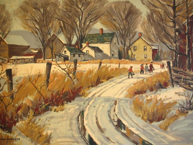 Road to the Village | Tom Roberts