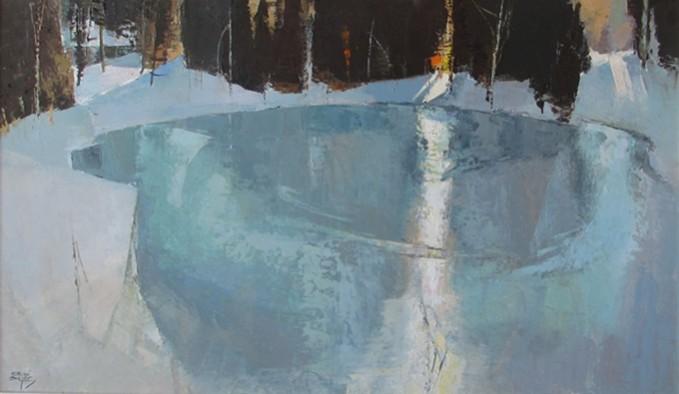 Frozen Light | Adrian Dingle