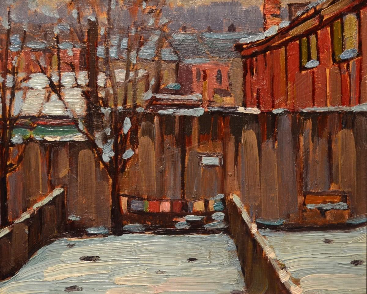 Backyard 13 Ottawa Street | Frederick Loveroff