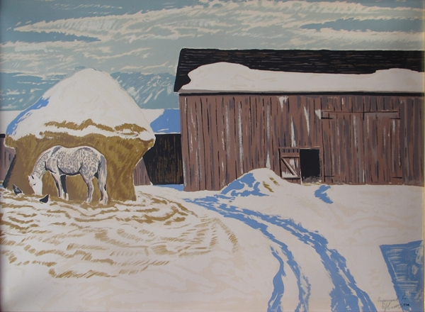 Winter Morning | Thoreau MacDonald