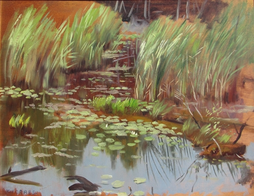 Reflections in a Pond | Kenneth Forbes