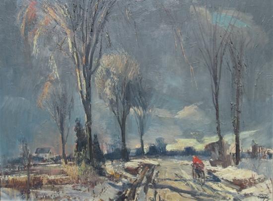 Cold November | Adrian Dingle