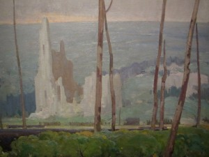 Photo of J.W. Beatty painting called Ablain-Saint-Nazaire