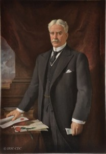 Photo of Kenneth Forbes painting of Canadian Prime Minsiter Sr. Robert Borden