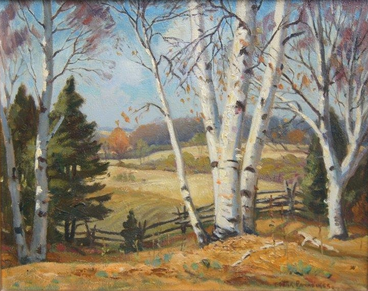 Birch Trees | Frank Panabaker