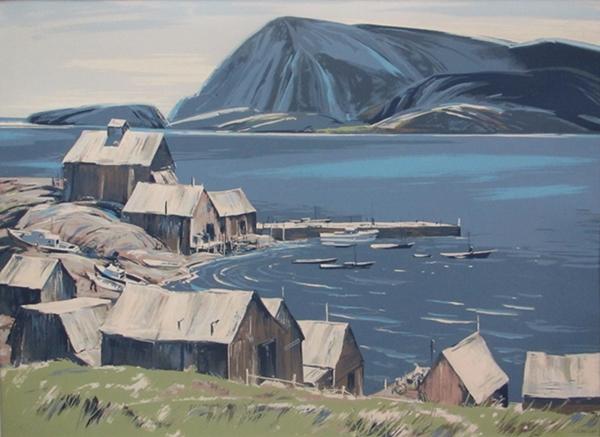 Cape Breton Harbour | J.S. Hallam