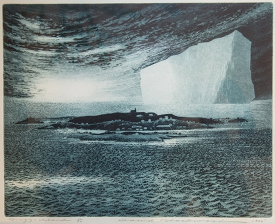 Braggs Island | David Blackwood