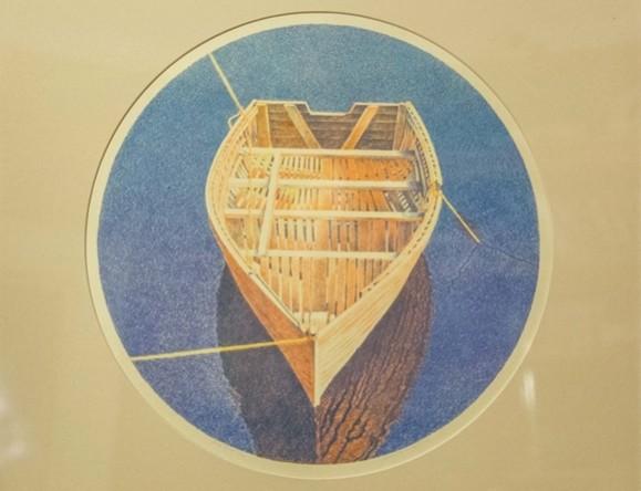Tied Boat | Mary Pratt