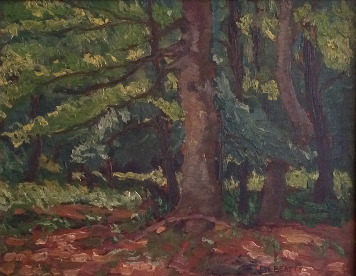 Untitled Forest Scene | JW Beatty