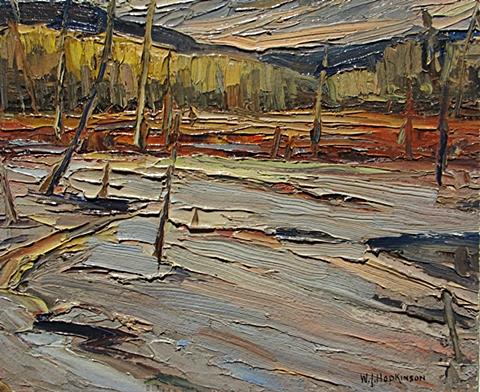 Untitled Landscape   W.J. Hopkinson