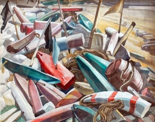 Markers, Killicks, Buoys | Peter Haworth