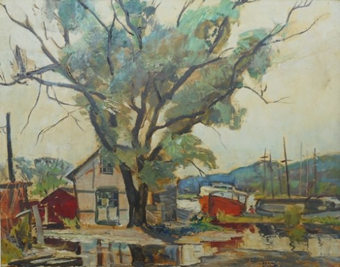 Tranquil Harbour   Adrian Dingle