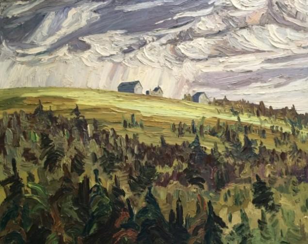 Landscape with Forest & Farm | Arthur Lloy