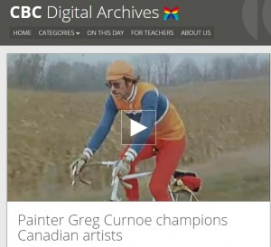 Screen grab from the CBC Digital Archives