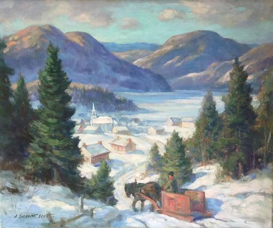 Winter Landscape   Adam Sherriff Scott