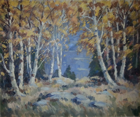 Birches, Baie St. Paul | Douglas Lawley