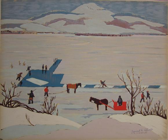 Ice Cutting | Sarah M. Robertson