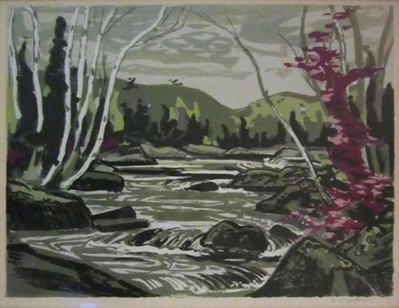 River Rapids | A.Y. Jackson
