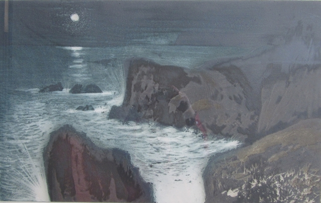 Cape Spear etching | David Blackwood
