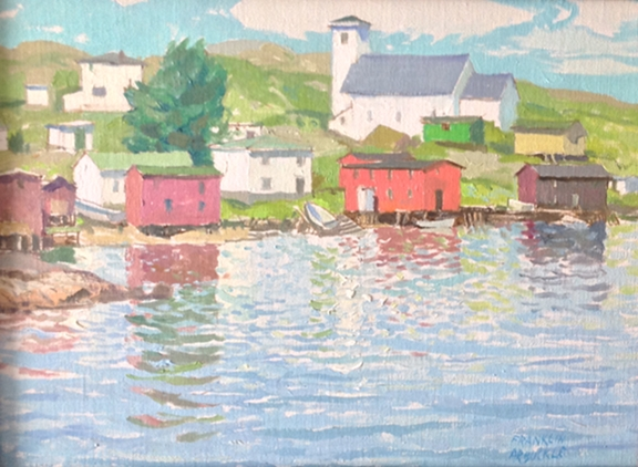 Salvage Bay, NFLD | Franklin Arbuckle