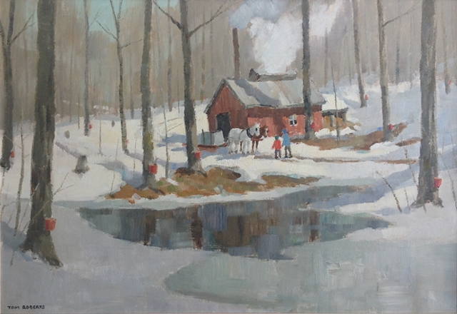 Maple Sugar Time | Tom Roberts