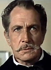 Photo of American actor Vincent Price