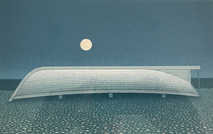 A Boat and the Moon | Christopher Pratt