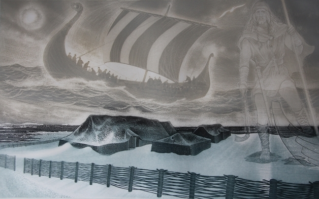 L'anse aux Meadows   David Blackwood