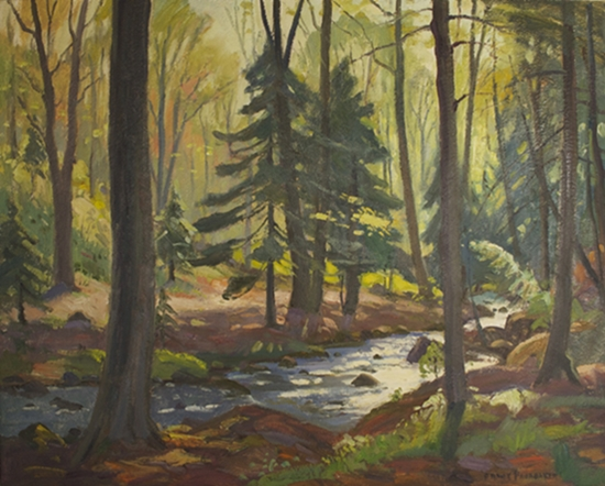 Untitled Forest Interior | Frank Panabaker