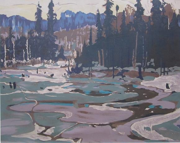 Portage, Ragged Lake | Tom Thomson