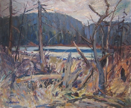 Lake Near Haliburton | W.J. Hopkinson