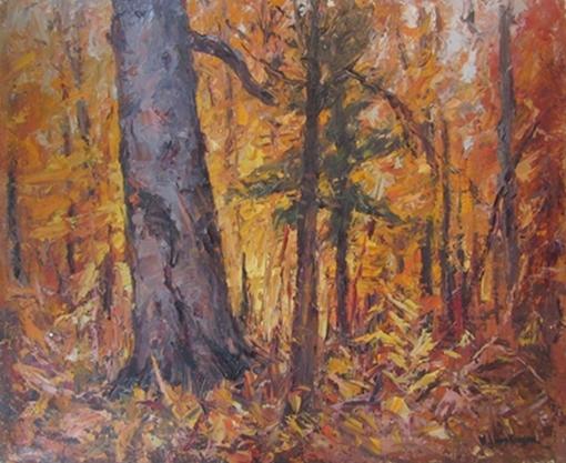 Untitled (Autumn Forest) | W.J. Hopkinson