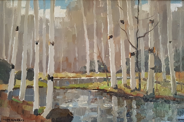 Untitled – Birch trees | Tom Roberts