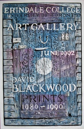 Poster for Erindale | David Blackwood