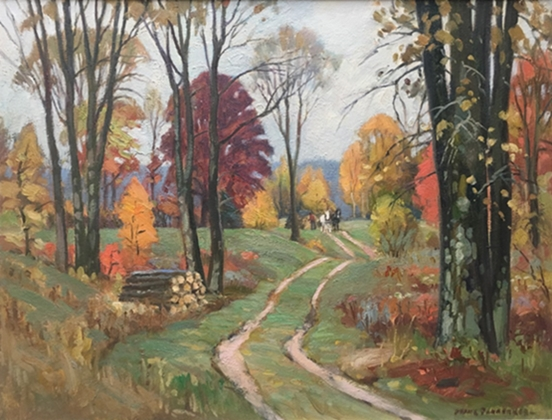 Autumn painting | Frank Panabaker