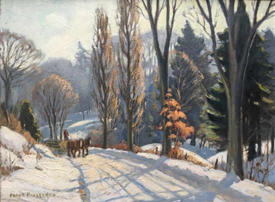 Winter painting | Frank Panabaker