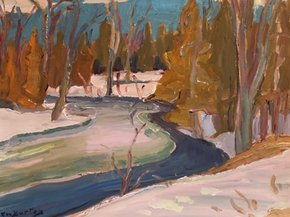 Jock River | Ralph Wallace Burton
