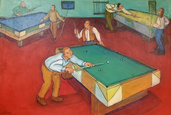 Pool Hall | Conrad Furey