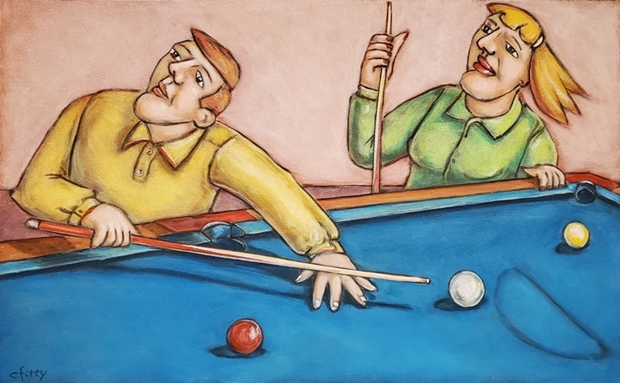 Pool Players | Conrad Furey