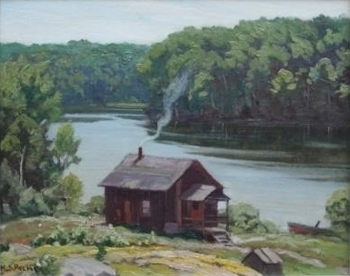 On Horseshoe Lake | H.S. Palmer