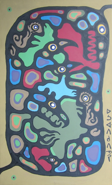 Interdependence of All Life   Norval Morrisseau