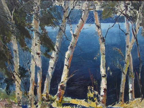 Mid-Summer Birches | Adrian Dingle