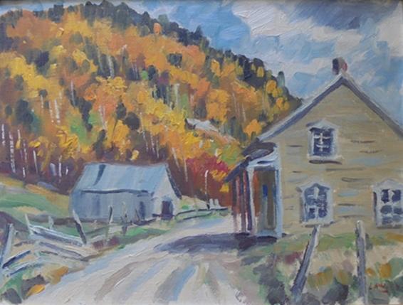 Farm Scene   Douglas Lawley