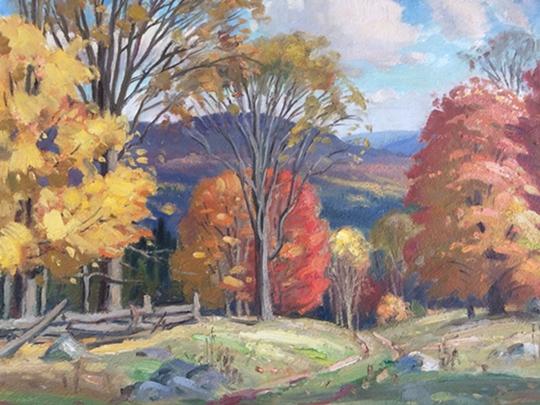 Ontario Fall Scene 1 | Frank Panabaker