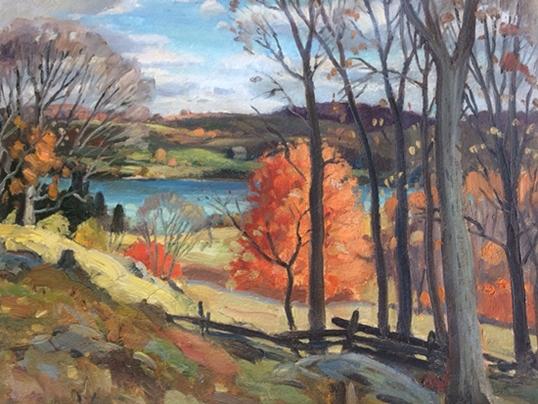 Ontario Fall Scene 2 | Frank Panabaker