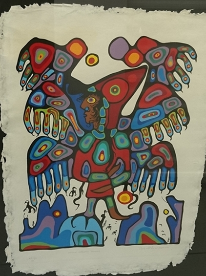 Shaman's Apprentice Visionary | Norval Morrisseau