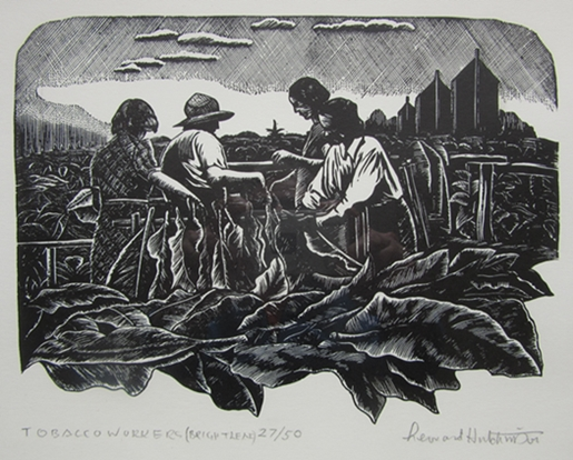 Tobacco Workers (Bright Leaf) | Leonard Hutchinson