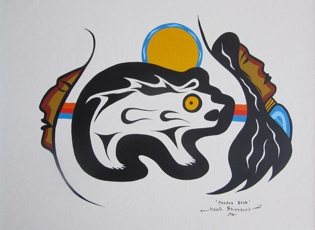 Sacred Bear | Noah Sainnawap