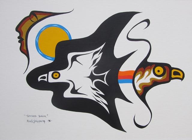 Sacred Hawk | Noah Sainnawap